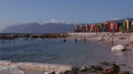 Tidal pool at St James Beach Cape Town video