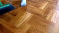 Tidying up the floor video