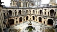 HD Tilt: Knights Templar Convents of Christ Tomar, Lisbon Portugal video