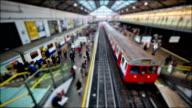 Tilt Shift London - Earls Court Station video