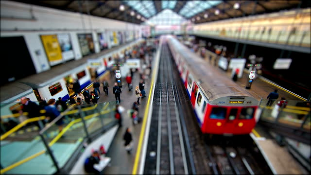 Tilt Shift London - Earls Court Station video