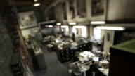 Tilt Shift Office Timelapse video