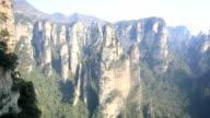 HD Tilt: Zhangjiajie National Forest Park China video