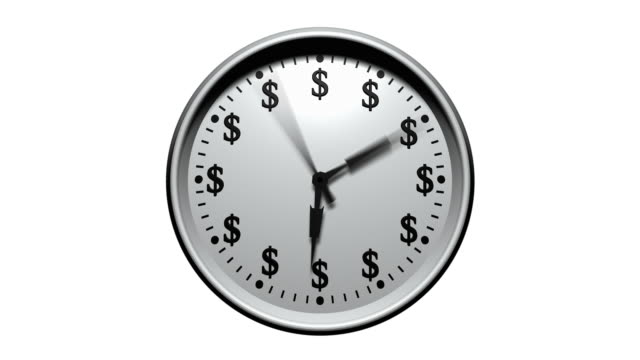 Time Is Money - Dollar Clock video