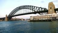 Time Lapes Sydney Harbour Bridge video