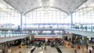 HD Time lapse : Airport Departure video