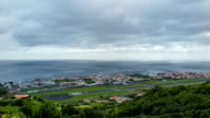 Time Lapse Airport of Santa Cruz das Flores - Azores video