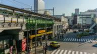 4K Time Lapse : Akihabara JR Station in Tokyo , Japan video