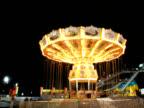 Time Lapse - Amusement Park Swing Ride video