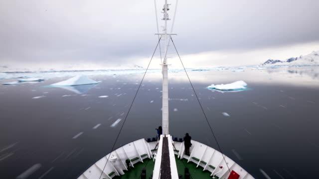 Time Lapse Antarctica Ocean Ice Frozen video