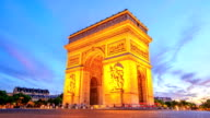 HD Time Lapse : Arch of Triumph video