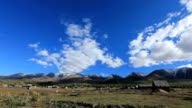 Time Lapse Baihaba Village in Autumn video