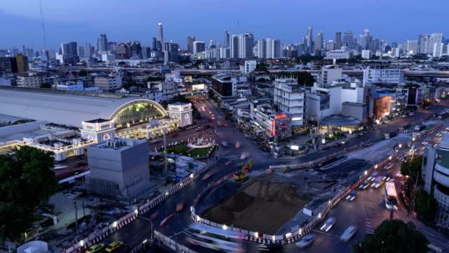 Time Lapse Bangkok video