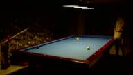 HD: Time Lapse Billiard video