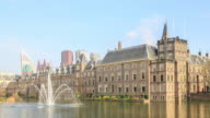 4K Time Lapse : Binnenhof Palace video