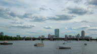 Time lapse Boston Charles River video