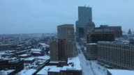 Time lapse Boston during the Blizzard of 2015 video
