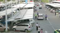 Time lapse car parking video