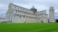 Time Lapse: Cathedral St. Mary of the Assumption in the Piazza dei Miracoli in Pisa, Italy. video