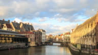 4K Time Lapse : center of Gent video