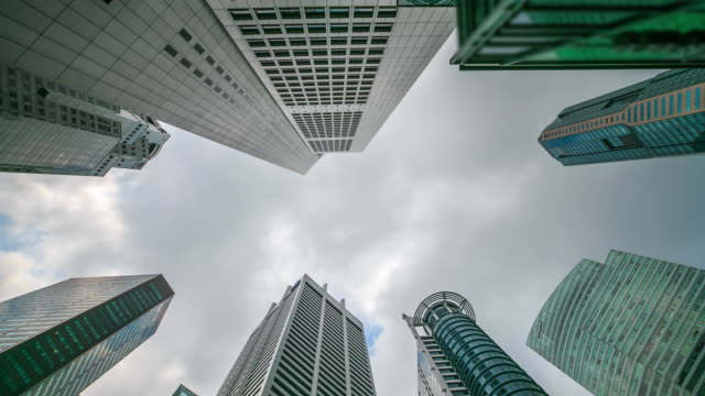 4K Time Lapse : Central Business Singapore video