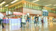 4K Time Lapse :Changi Airport Terminal video