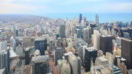 4K Time Lapse : Chicago skyline video