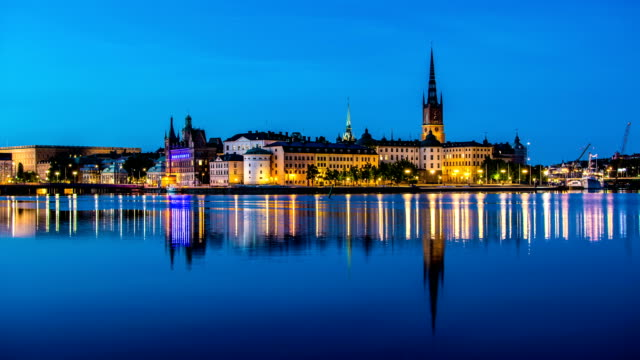 HD Time Lapse: City Centre of Stockholm video