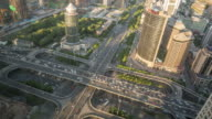 Time Lapse- City Traffic of Beijing (WS HA) video