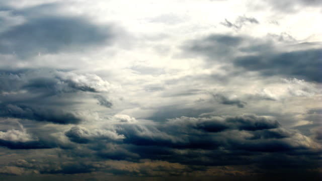 time Lapse clouds. video