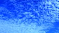 Time lapse cloudscape video