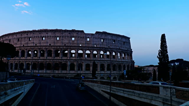 Time lapse Colosseum Rome, Italy video