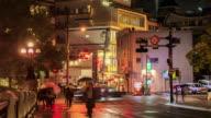 4K Time Lapse : Crowd in Hiroshima video
