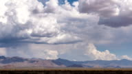 Time Lapse Desert Clouds video