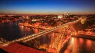 4K Time Lapse : Dom Luiz bridge video