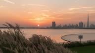 Time Lapse Dubai Skyline video