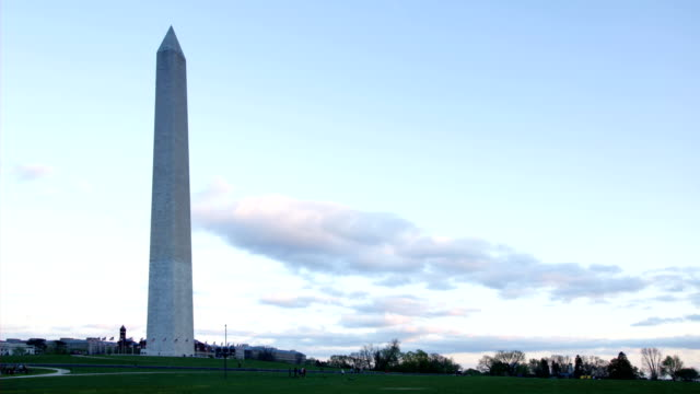 Time Lapse - Dusk At The Washington Monument video