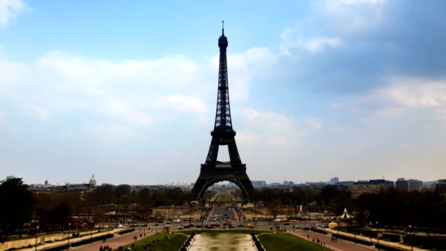 Time Lapse - Eiffel Tower video