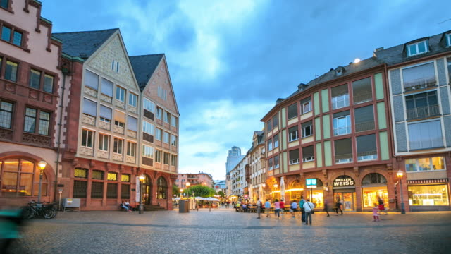 4K Time Lapse :Frankfurt Roemerberg video