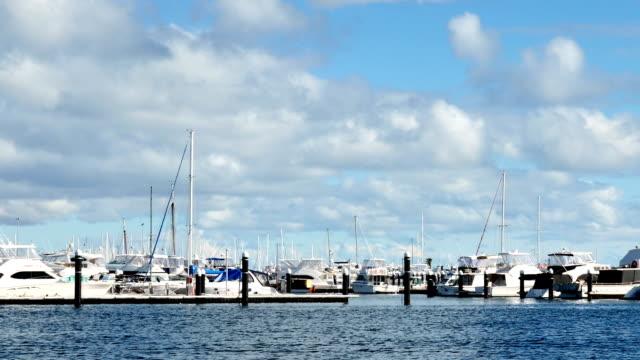 Time Lapse - Fremantle's Yacht Harbour, Perth, Western Australia video