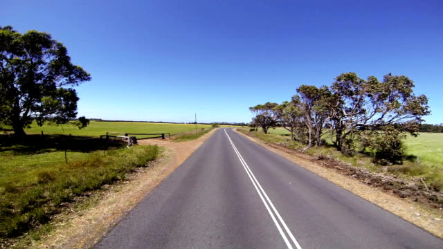 Time lapse from driving through the forest in Western Australia video