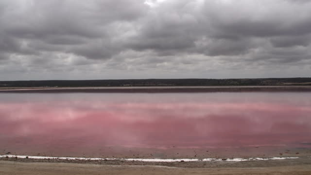 Time lapse from the Pink lake video