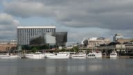 Time lapse from the Stockholm Waterfront Congress Hall video