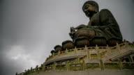 HD Time lapse : Giant Buddha in Hong Kong video