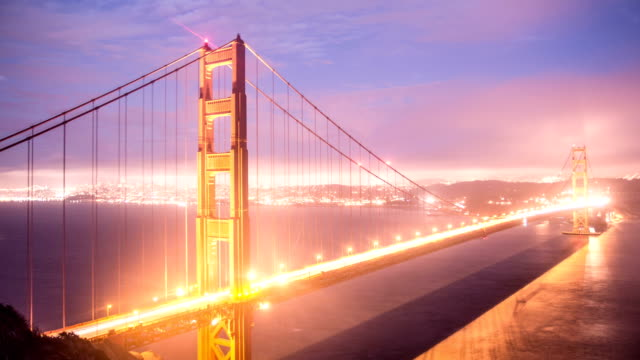 Time lapse- Golden Gate Bridge video