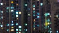 Time Lapse- Grid Apartment in Beijing (Pan) video