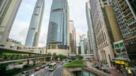 Time Lapse : Hong Kong Central Business District video