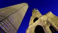 Time lapse Kaiser Wilhem Memorial Church in Berlin video