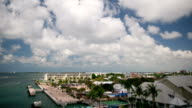 Time Lapse - Key West, aerial view video