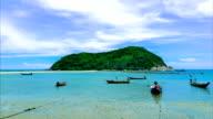 Time lapse : Koh Ma - Koh phangan video